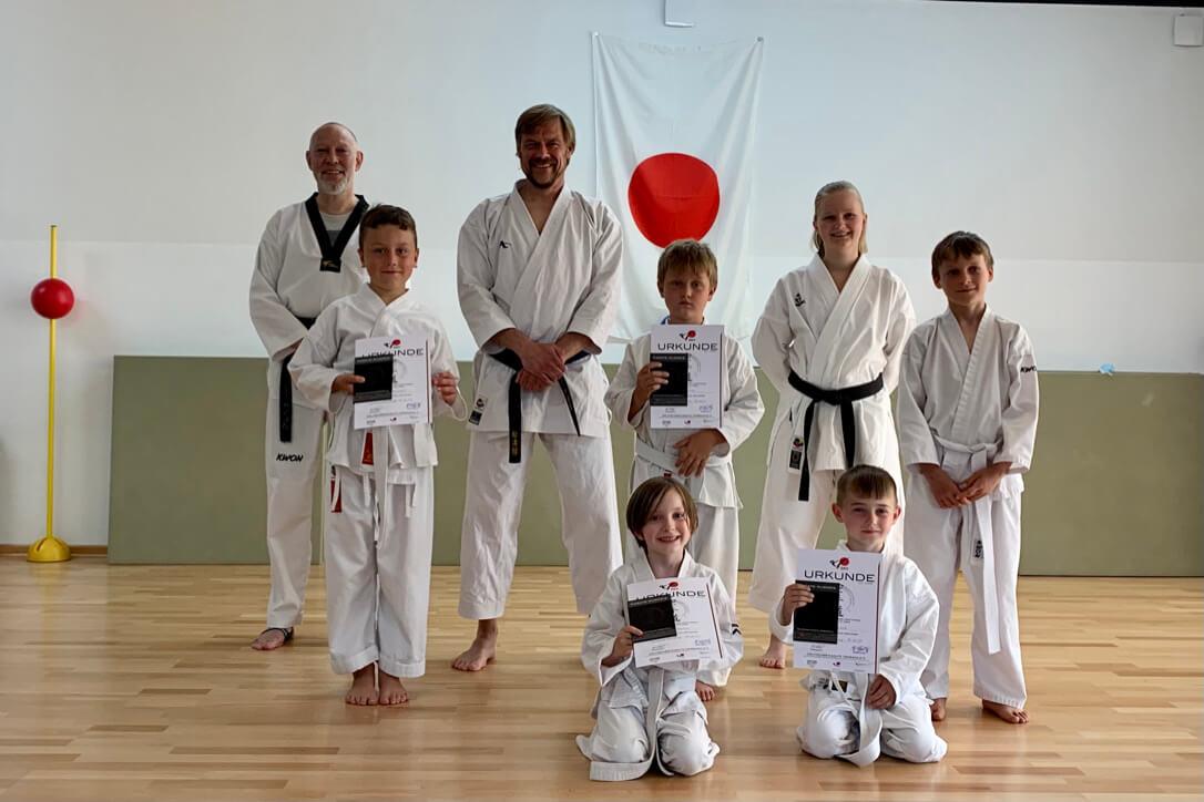 Karate Prüfungen 2021